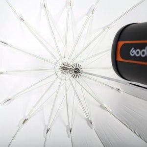 """Image 5 - GODOX Studio Photogrphy 60 """"150 cm czarny biały oświetlenie odblaskowe lekki parasol"""