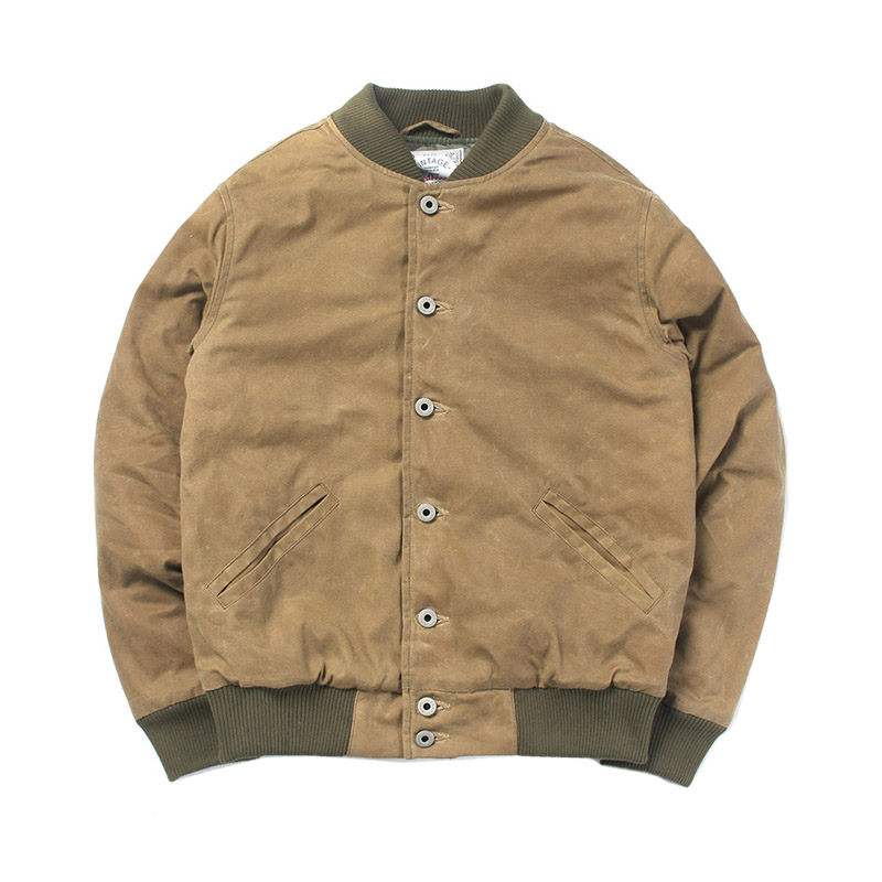 WT-0005 Read Description! Asian Size Good Quality Cotton Canvas Wax Water Proof Jacket