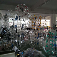 Inflatable Loopy Ball,bubble football,Soccer ball 0.8mm pvc Inflatable Bumper Zorb Ball Bubble Football for playground game