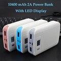 Kailiya Tecnología Portátil Banco de la Energía 10400 mAh Del Cargador de Batería Para iphone4 4S 5 5S 6 6 s plus sumsang xiaomi htc huawei lg