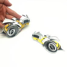 Etiqueta Do Carro Decalque Do Emblema Do Emblema Auto Para Dodge 6.4L 3D Caravana Caliber Challenger Charger Durango Ram Bumblebee Super Bee