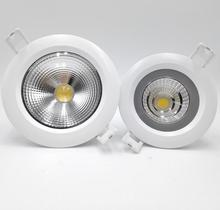 Free Shipping 15W/12W Waterproof IP65 COB Recessed led Ceiling down light,cob downlight +waterproof Led Driver AC85-265V