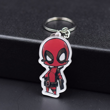 Deadpool Ant-Man Keychain 8 Styles Fashion Jewelry Key Chains The Hulk The Avengers Custom made Movie Key Ring FQ1