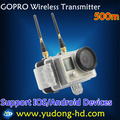 Outdoor Sport Wireless Broadcasting Kit gopro wireless Transmission Over long distance gopro wireless transmitter and receiver