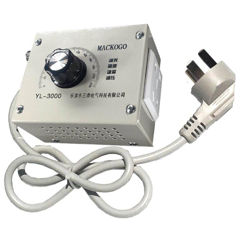 220v ventilateur moteur transmission commutateur de changement de pression électronique thermostat AC moteur régulateur d'échappement ventilateur commutateur de changement de vitesse