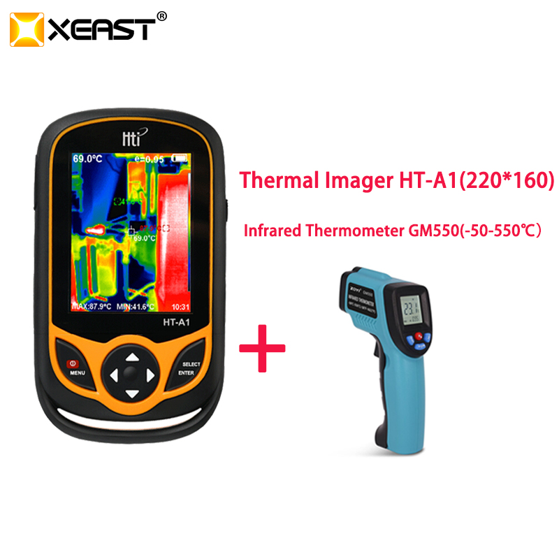 XEAST Thermal Imaging Mobile phone HT A1 220 160 Resolution Infrared Camera HD measurement tool 100