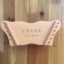 6 Strings MINI Guzheng Guitar Finger Training Device Piano Practice Tool