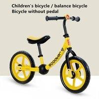 Портативный мини детский велосипед без педалей для езды на велосипеде с толчком Glid Buggy Sliding Toy Bicycle 2 6 лет Baby Walker Bmx