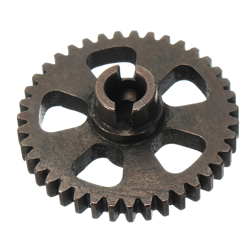 High Quality G2610 Steel Spur Gear 39T 1/16 Upgrade Parts For Truggy Buggy Short Course 1631 1651 1621 image