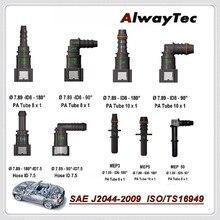 Auto Fuel Line Hose Quick Release Connector Automotive connectors for car