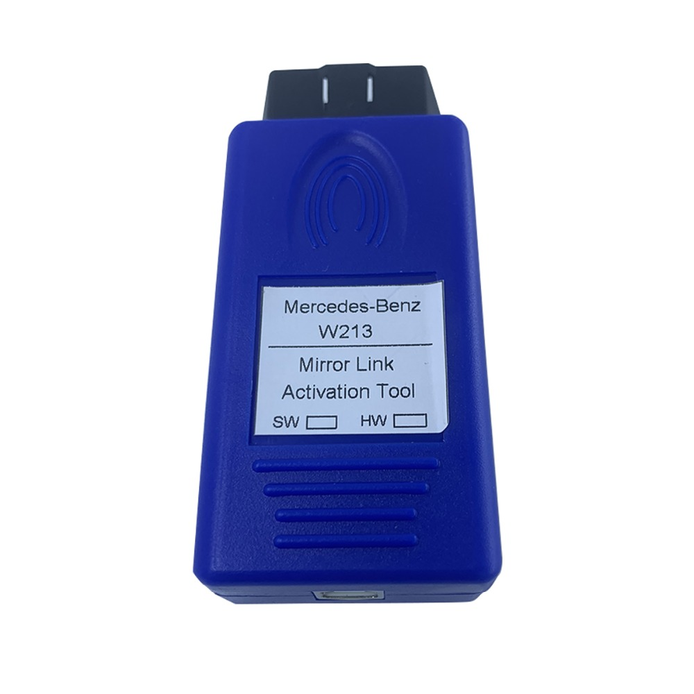 Enable mirror link phone interconnection via OBD activation tool for  Mercedes-Benz E class NTG5 5 W213