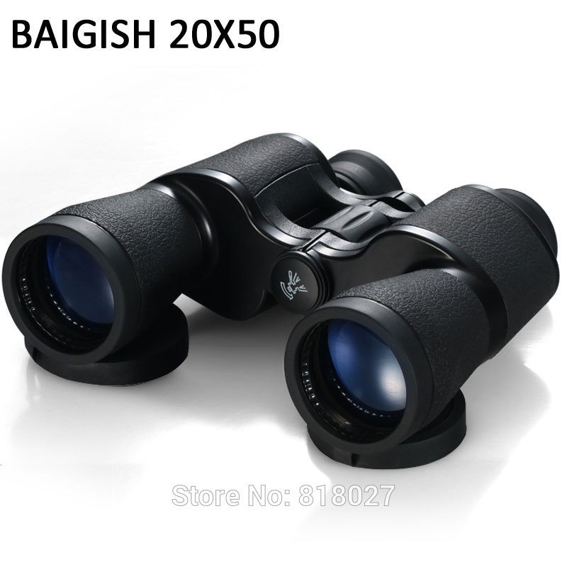Powerful professional Binoculars baigish 20X50 military telescope LLL night vision telescopio hd high power zoom for hunting powerful professional binoculars baigish 20x50 military telescope lll night vision telescopio hd high power zoom for hunting