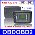 Best Quality SBB Car Key Programmer V33.02 No Tokens Limited SBB Auto Key Pro Multi-Languages Supported Free Shipping