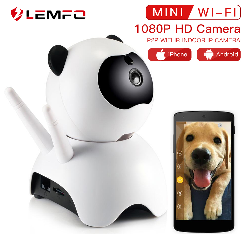 LEMFO Pet-Monitor 1080P Wifi Network-Camera Night-Vision Surveillance-P2p Baby Home-Security