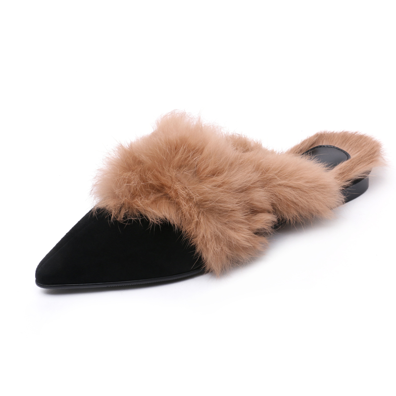 Arden Concise Dames Plats Mules Mûres Black 2019 Chaussures Bout Mode Confortables Pantoufles De Printemps Pointu Furtado Femmes 1cJFKl
