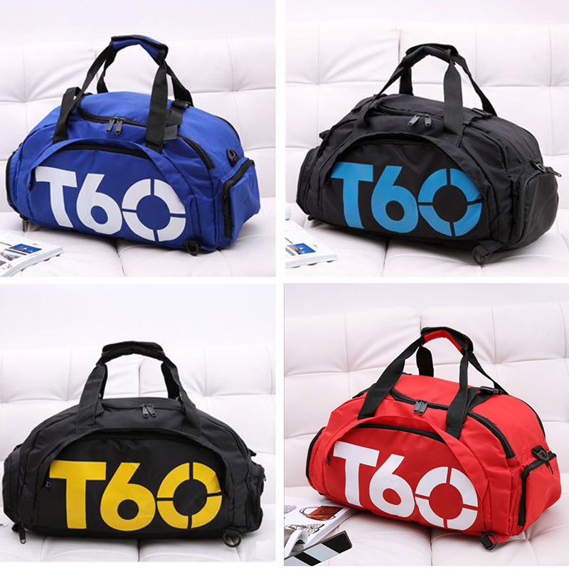 Men Gym Bag Backpack Women Fitness Travel Handbag Outdoor Separate Space For Shoes Sac Sports Bag A Bag Male Women Bags Sport H