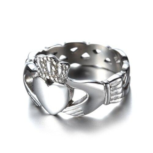 Aliexpresscom Buy New Wedding Rings Love Heart King Queen Crown