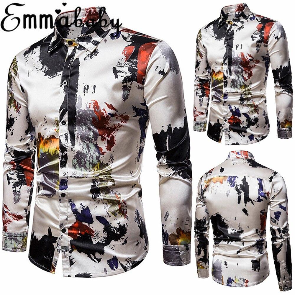 casual and luxury designer regular fit shirts Men/'s Italian dress formal