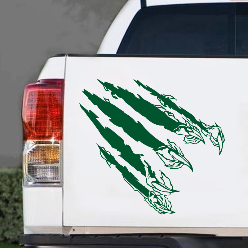free shipping art design cool claw marks cheap car sticker