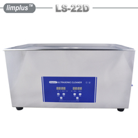 Table top 22L Ultrasonic Cleaner SUS304 480W Industrial Ultra Sonic Wave Cleaner Garage Tool Oil Remove