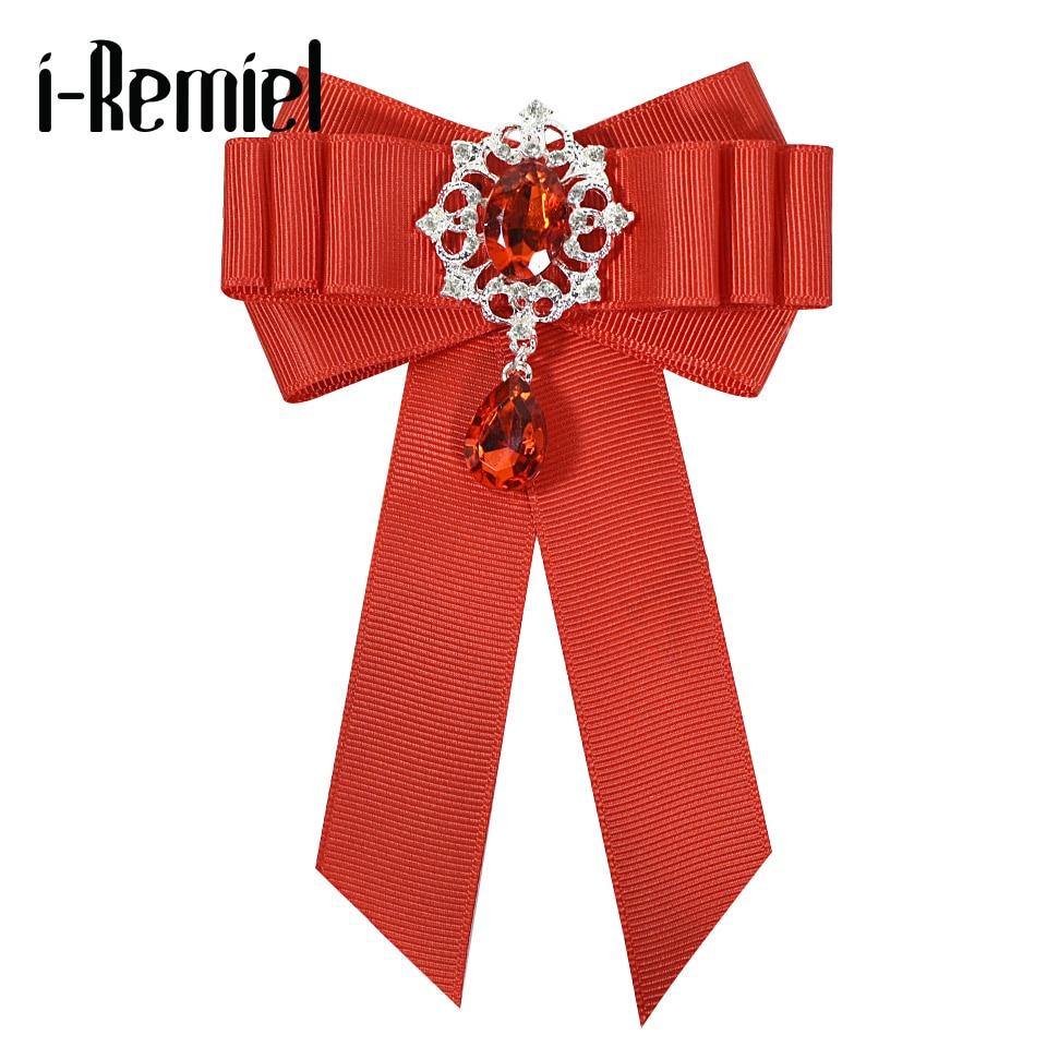 I Remiel, красная бархатная лента, бант, брошь на воротник, булавки и броши, блузка, женская одежда, аксессуары, модное ювелирное изделие, брошь