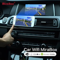 Car WiFi MiraBox For iOSAndroid Phone Mirrorlink Box For Miracast Allshare Cast DLNA Airplay Car WiFi Screen Mirroring Box