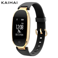 KAIHAI H68 famale smart Wristband Heart Rate Monitor Weather App Reminder Remote Sport Bracelet Watches for women intelligent