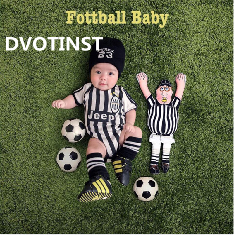 все цены на Dvotinst Baby Photography Props Theme Background Costume Clothes Football Set Fotografia Accessories Studio Shooting Photo Props