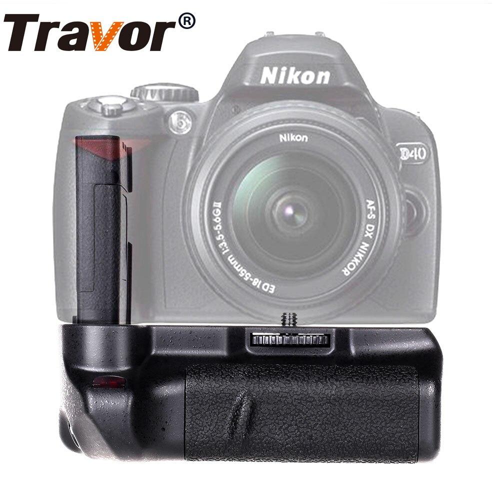 Travor Battery Grip holder for Nikon D40 D40x D60 D3000 D5000 DSLR Camera work with EN