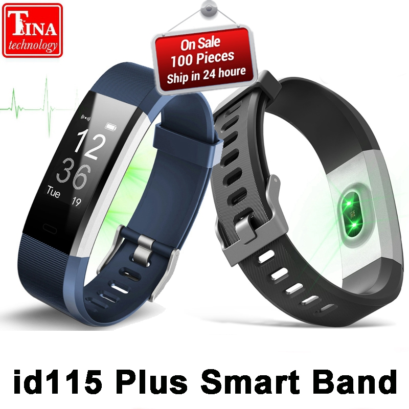 ID115 Plus Heart Rate Smart Band 0.96