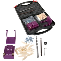 Drill Mini Pocket Hole Jig Kit System Woodworking Joint Tool Accessory Portable S02 Drop Ship