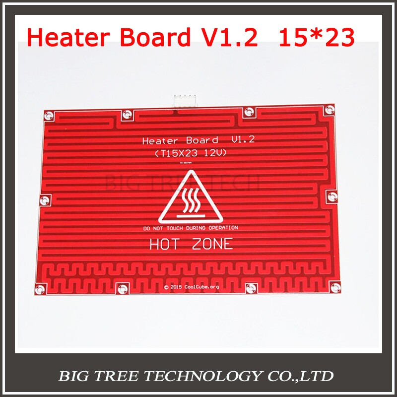 1pc Hot Bed Heat Plate Makerbot 3d Printer Kit Reprap Mendel Prusa i3 3D Printer 12V Hot Bed Heat Plate Heat Bed PCB 150*230