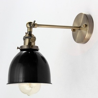 Colorful E27 Modern Colorful Retro Vintage Sconce Loft Wall Light Bulb Lampshape Covers For Cafe Bar Coffee 110-240V