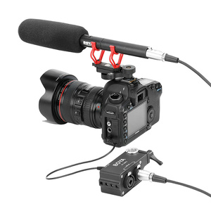 Image 2 - Boya BY MA2 Dual Channel Record Audio Mixer XLR Jack 6.5mm to 3.5mm Wireless Microphone System for DSLR Camera Canon Nikon Sony