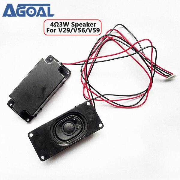 Per V59/56/59 3463A SKR.03 4 Ohm 3W pannello LCD amplificatore per altoparlanti uscita frequenza audio nero (30mm x 70mm) 1 paio