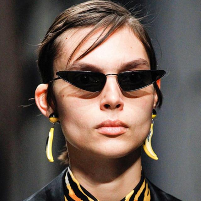 0003797e59fe7 2018 Fashion Cute Sexy Retro Cat Eye Sunglasses Women Vintage Brand  Designer Cateye Sun Glasses For Female Ladies UV400
