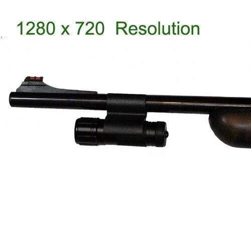 1280 x 720 P HD Mini acción del Rifle cámaras para Hunter como Guncam
