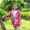 Girls Jackets Coats sport Outdoor Waterproof Windproof Jackets Autumn Spring Kids Brand Double-deck Children Outerwear For 3-12y