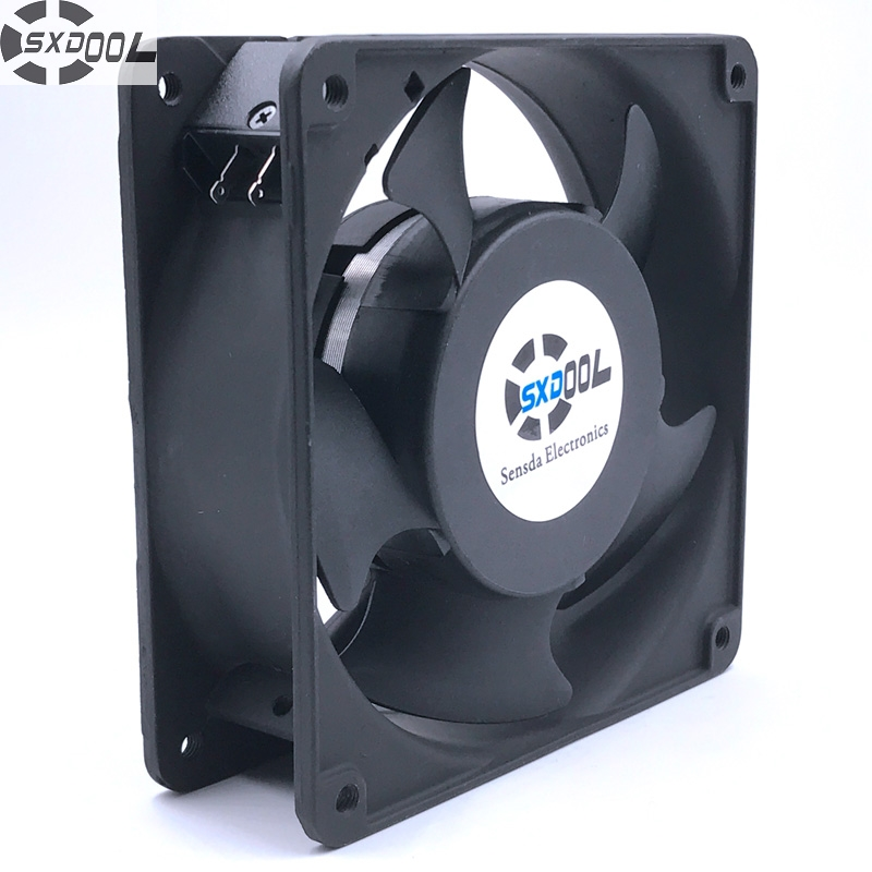 120mm cooler SXDOOL SJ1238HA1  12038 120*120*38MM 110V 0.27A  industrial Cooling fan original delta ffb1224she 12cm 120mm 12038 120 120 38mm 24v 1 20a cooling fan