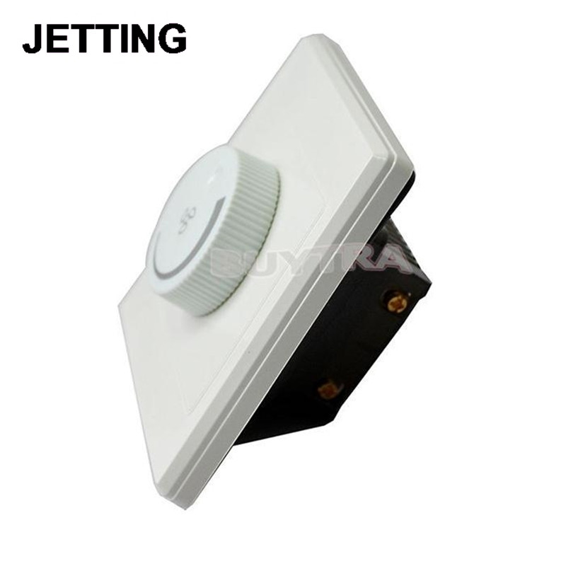 Adjustment Ceiling Fan Speed 220V 200W Control Switch Wall Button Dimmer Switch
