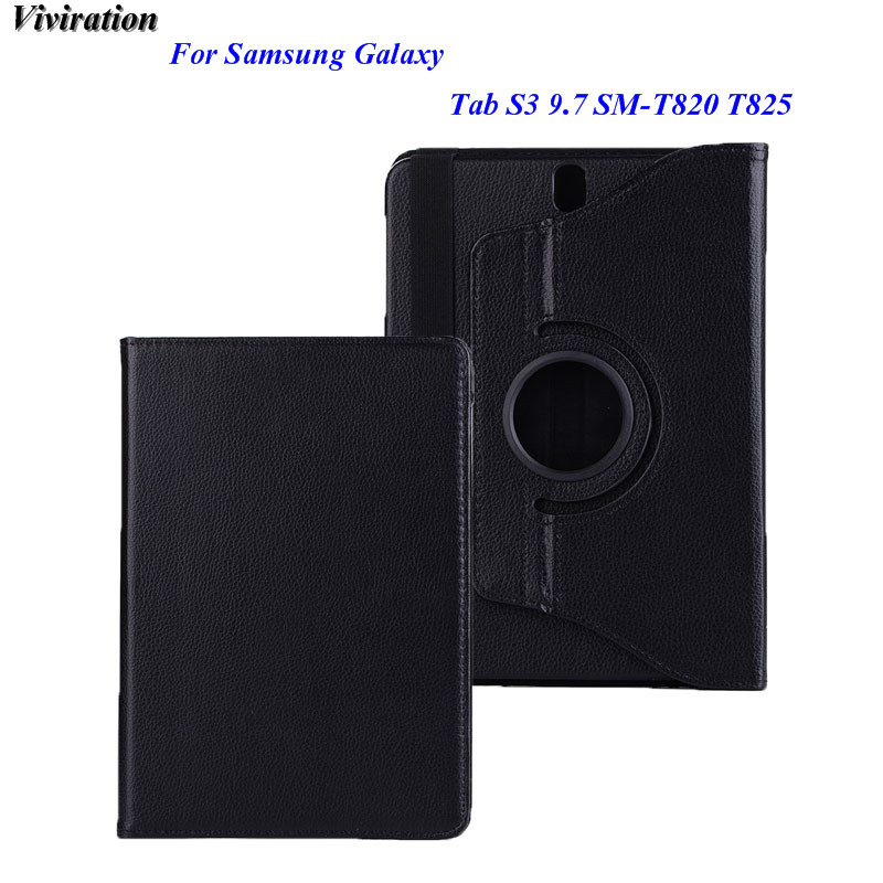 Black High Quality Tablet Accessories For Samsung Galaxy Tab S3 9.7 SM-820 SM-T825 Case  ...