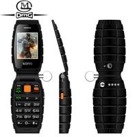 Tastiera russa 3 Tre SIM card 3 standby flip del telefono mobile delle cellule SERVO V7 2.4
