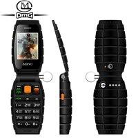 Russian Keyboard Three SIM Mobile Phone Origina SERVO V7 2 4 3 SIM Card 3 Standby