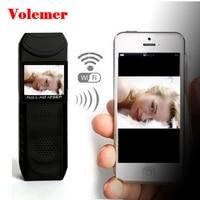 Volemer WIFI mini camera Night vision Wireless Pen Camcorder Full 1080P HD DVR Body Police Pocket Camera Portable DV Micro Cam