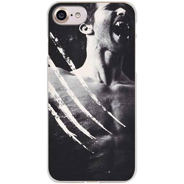 BINYEAE Derek Hale Quotes Teen Wolf Clear Cell Phone Case Cover for Apple iPhone 4 4s 5 5s SE 5c 6 6s 7 Plus