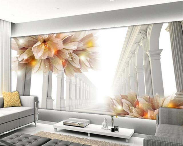 3d Wallpaper For Bedroom Walls Beibehang 3d Wallpaper Living Room Bedroom Murals 3d
