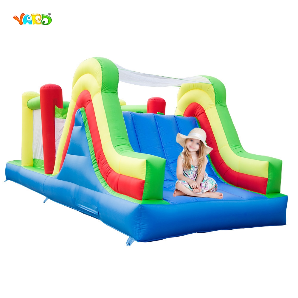 YARD Outdoor Bounce House Combo 6 in 1 Large Slide Obstacle Course Kids Inflatable Toys Special Offer for Africa nb411 ignition coil for robin ec04 bg411 cg411 magneto stator 47cc 49cc 2t atv pocket dirt bike brushcutter ignitor module