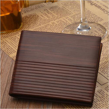 Vintage Small Leather Men Wallet