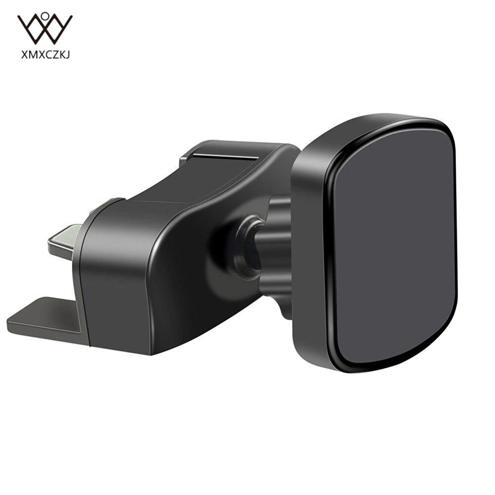 Car Phone Mount CD Slot Magnetic Car mount Magnet Holder For iPhoneX/8/7/6/6s Plus Release Button Universal Mobile Car Holder