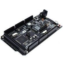 Mega2560 + WiFi R3 ATmega2560 + ESP8266 32 Mo de mémoire USB TTL CH340G. Compatible pour Arduino Mega NodeMCU pour WeMos ESP8266